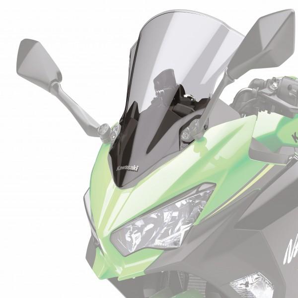 Kawasaki Ninja 400 Tall Screen Smoked