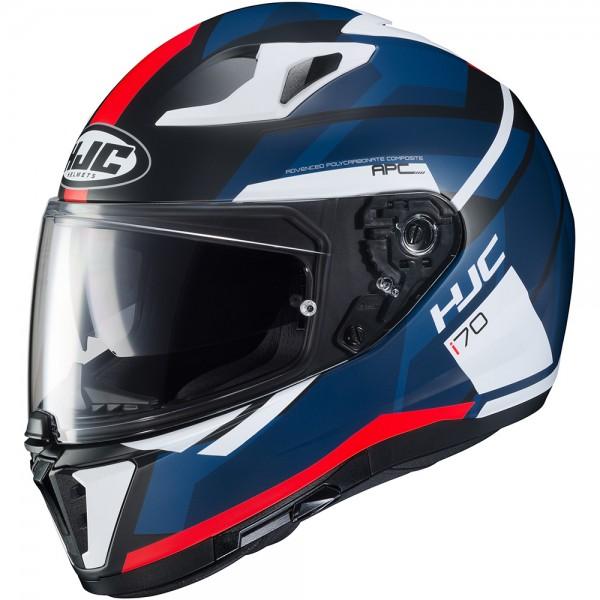 HJC I70 Elim Red Black Blue & White
