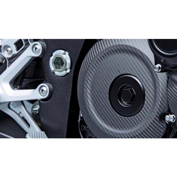 GSX-S1000FZ  Carbon Fibre Clutch Cover