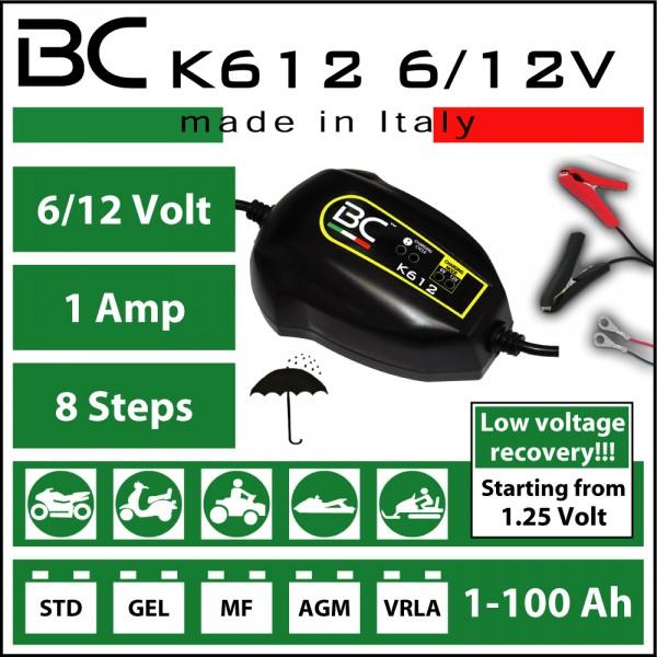 BC K612 6/12V
