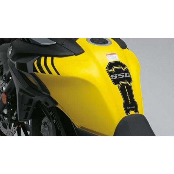Suzuki V-STROM 650X GT Tank Pad Black/Yellow