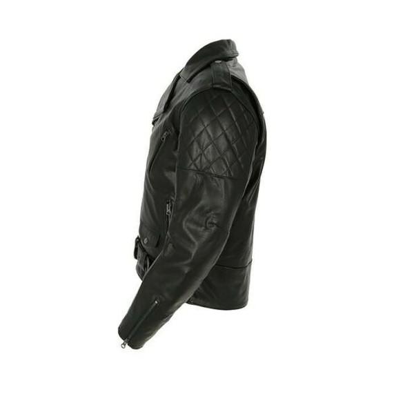 Merlin Pilsbury Leather Jacket - Black