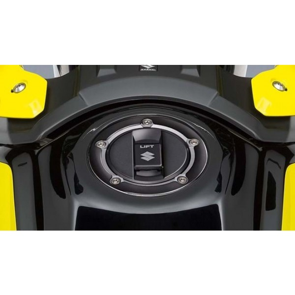 Suzuki V-STROM 250 Fuel Cap Trim - Piano Black