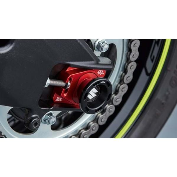 Suzuki GSX-R1000R Axle Slider Set  Rear Wheel 1