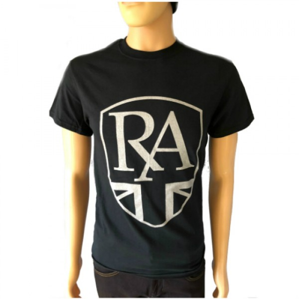 Royal Alloy Logo T-Shirt Black