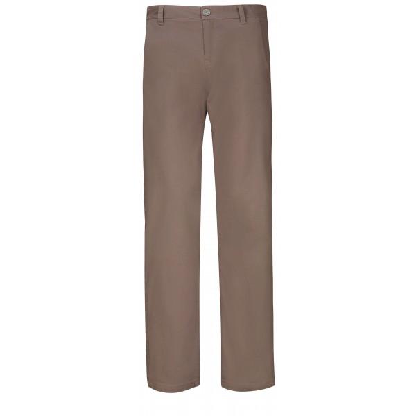 Suzuki Men's Brown Chino Pants Long Length