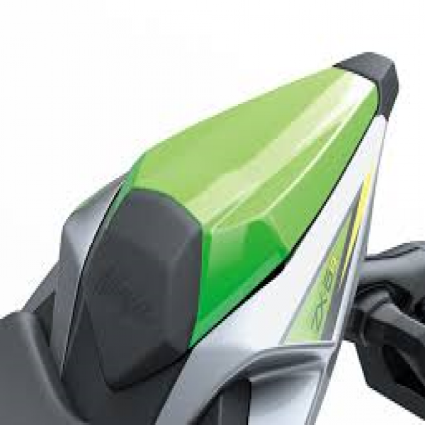 Kawasaki Ninja ZX-6R Pillion Seat Cover (Lime Green)