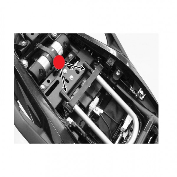 Kawasaki Versys 650 U-lock bracket