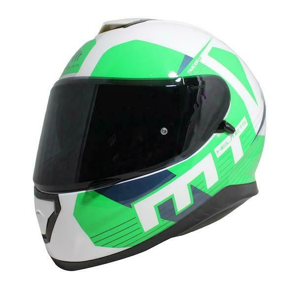 MT Thunder 3 Ray White/Green
