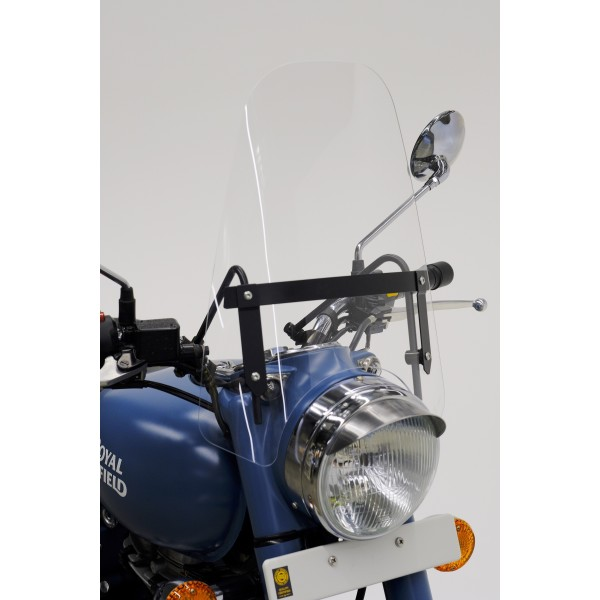 Royal Enfield Clear Screen With Embellisher Kit