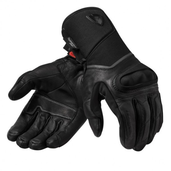 Revit Summit 3 H2O Leather Gloves Black