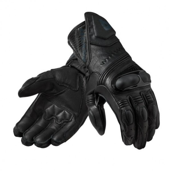 Revit Metis Leather Gloves Black