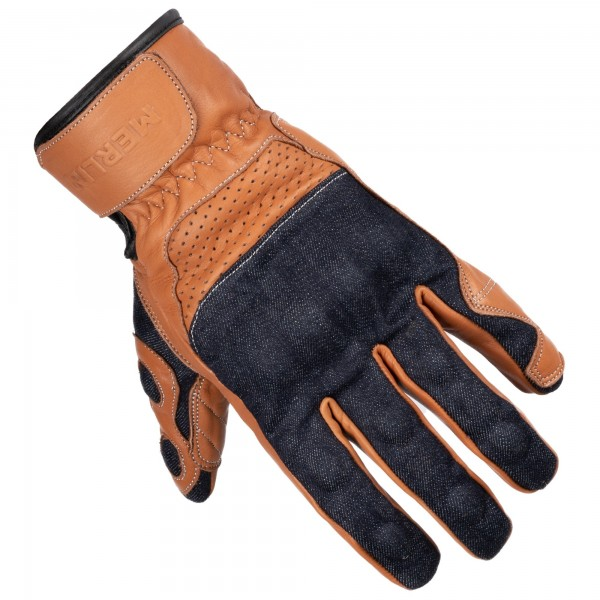 MERLIN MAPLE GLOVES - BLUE / BROWN