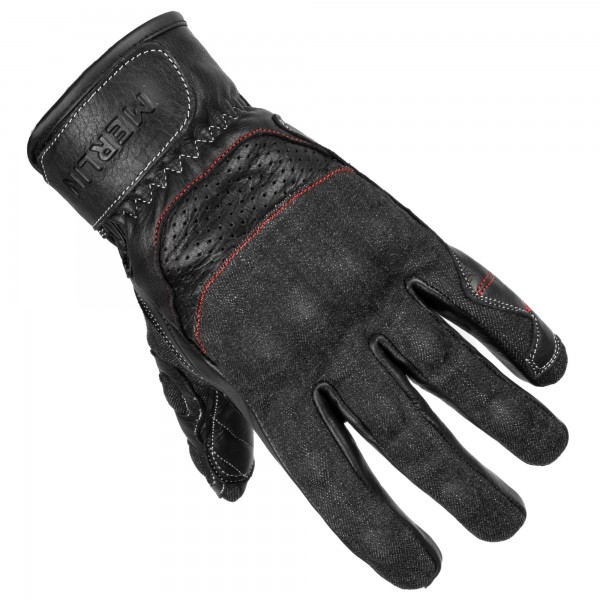 MERLIN MAPLE GLOVES - BLACK - GREY