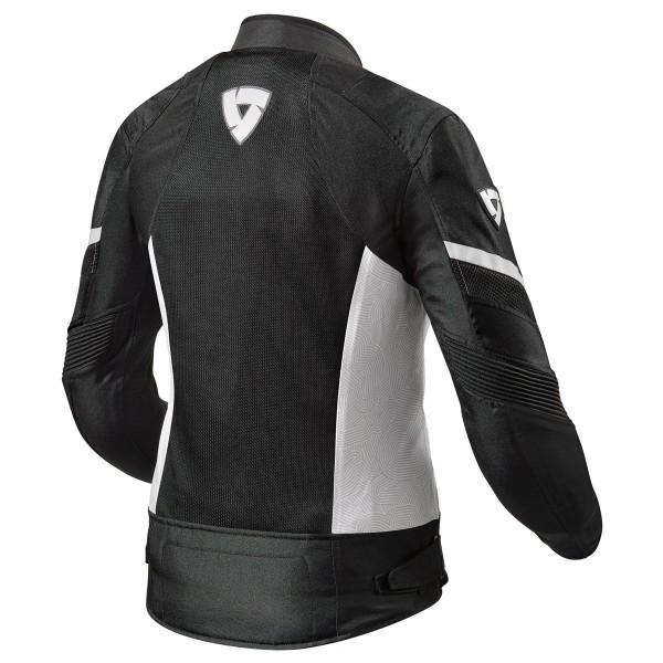 Revit Arc Air Textile Ladies Jacket Black / White