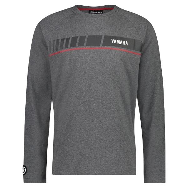 Yamaha REVS Men's Long Sleeve T-shirt Grey
