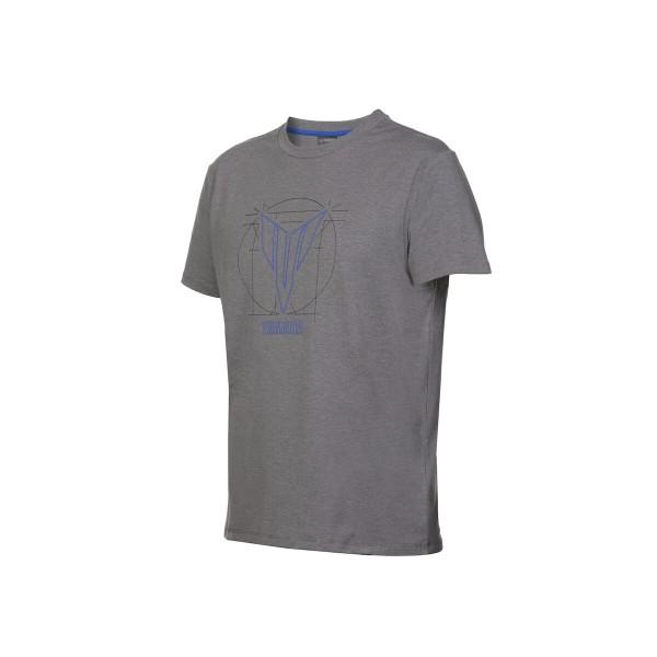 Yamaha Men's SS MT Print Topeka Grey T-Shirt