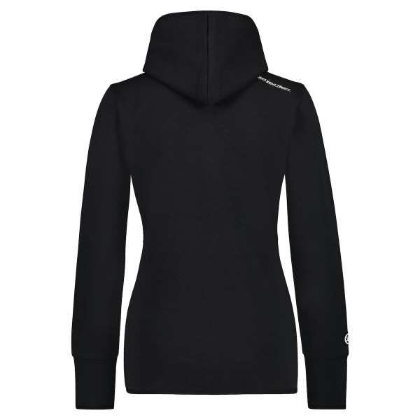 REVS Women's Zip-Up Hoodie Black