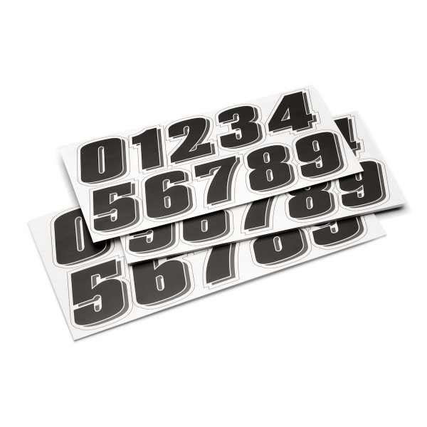 Numbers Sticker Kit For Front Number Plate XSR700 2018