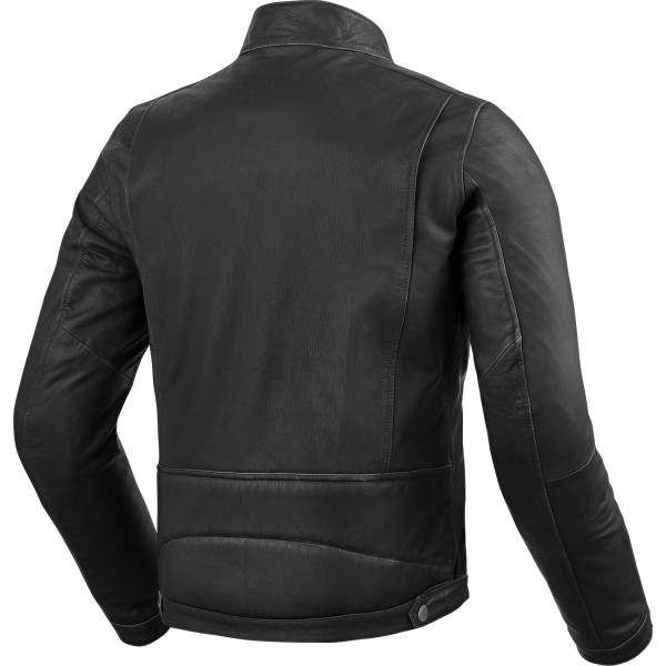 RevIt Roswell Leather Motorcycle Jacket - BLACK