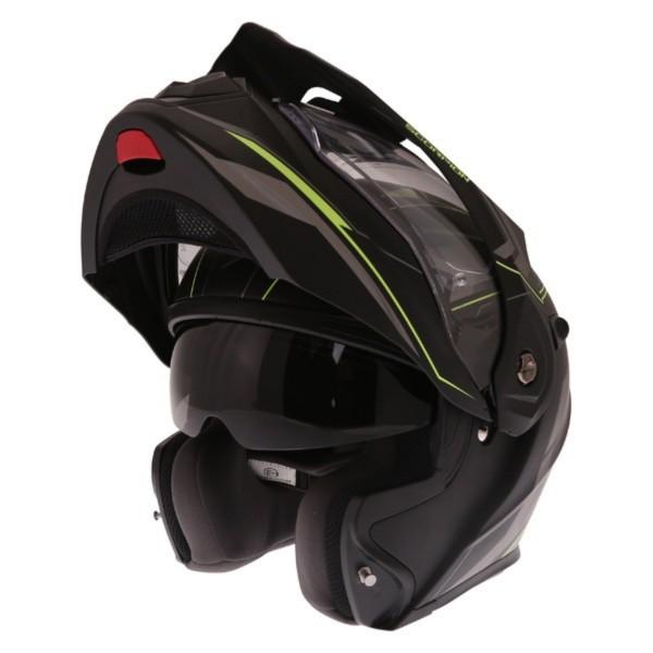 Scorpion ADX-1 Anima Helmet Matt Black Yellow