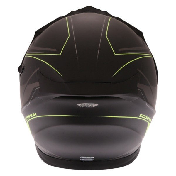 Scorpion ADX-1 Anima Helmet Matt Black Yellow