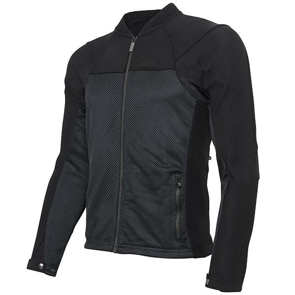 Knox Zephyr Pro Textile Jacket Black