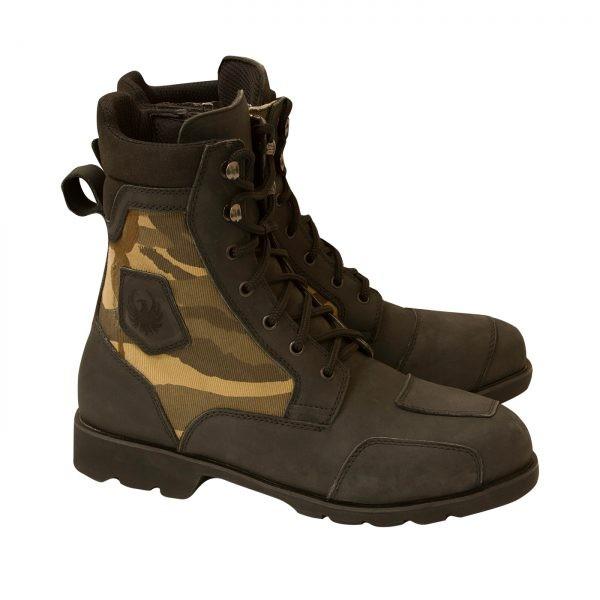 Merlin G24 Borough Camo Boots - Black