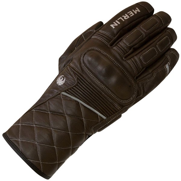 Merlin Catton Outlast Leather Gloves - Choc Brown