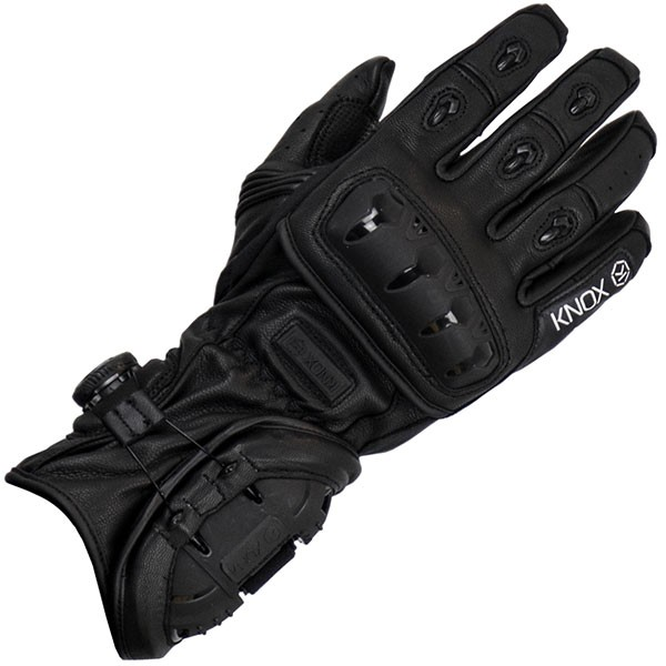 Knox Nexos Leather Gloves Black