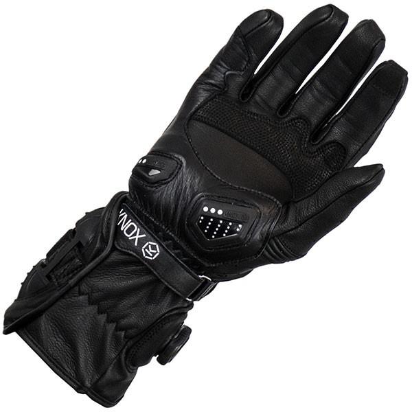 Knox Nexos Leather Gloves - Black