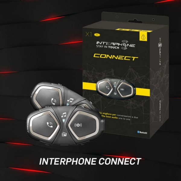 INTERPHONE BLUETOOTH HEADSET CONNECT SINGLE