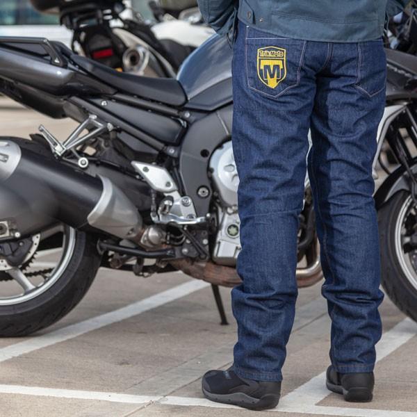 Trik Moto Aramid Fibre Denim Jeans - Blue
