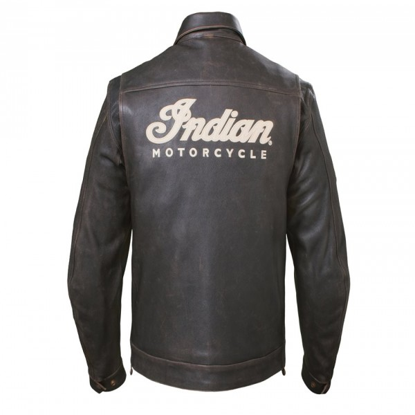 Indian Leather Classic Riding Jacket Dark Brown