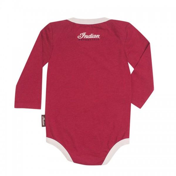 Indian Infant Long-Sleeve Bodysuit, 3-Pack