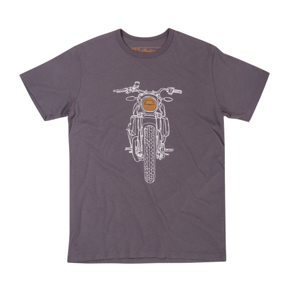Indian Men's Hand Drawn FTR1200 Headlight T-Shirt