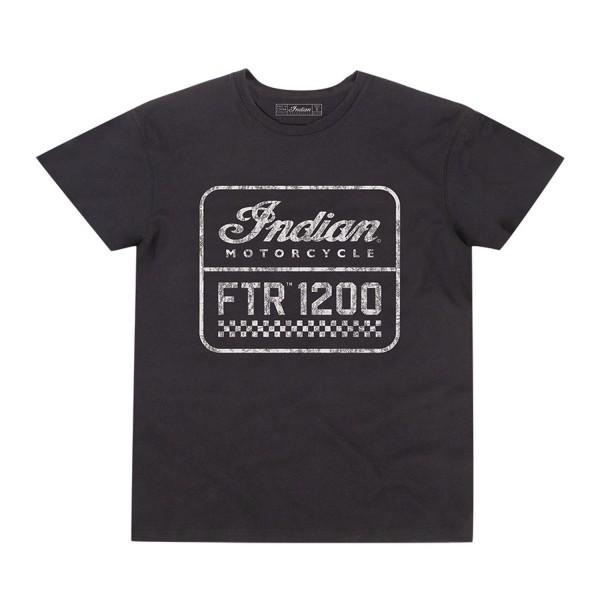 Indian Men's FTR1200 Logo T-Shirt, Black