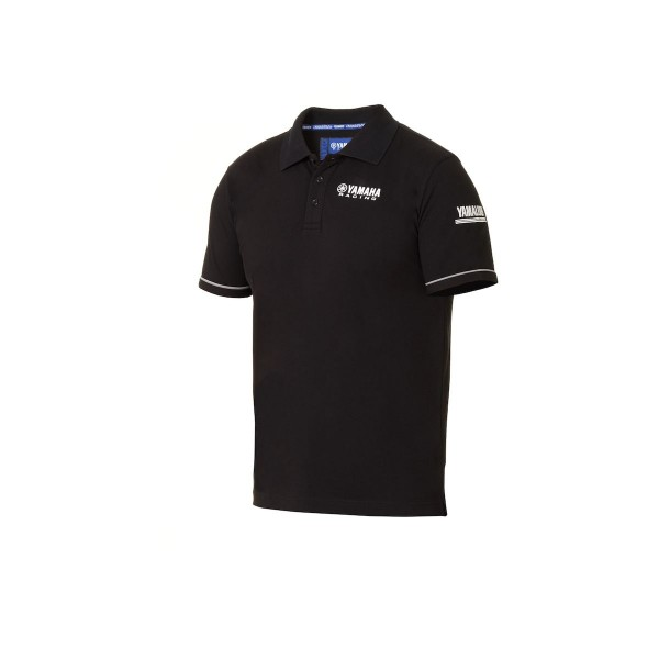 Yamaha Paddock Blue Men's Polo Shirt Black
