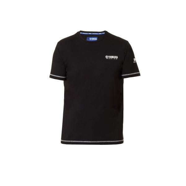Yamaha Paddock Blue Casual Men's T-shirt Black