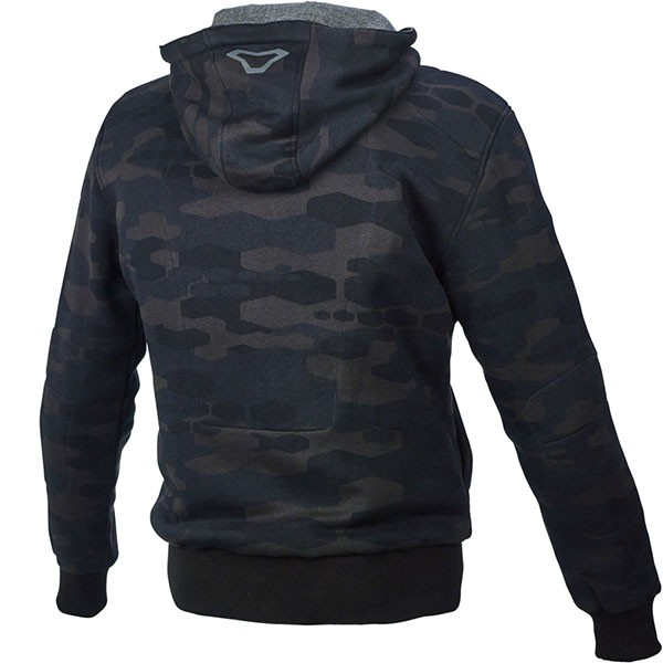 Macna Nuclone Textile Jacket - Camo Black / Grey