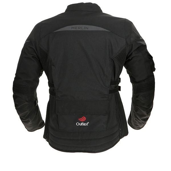 Merlin Ladies Gemini Outlast Textile Jacket - Black