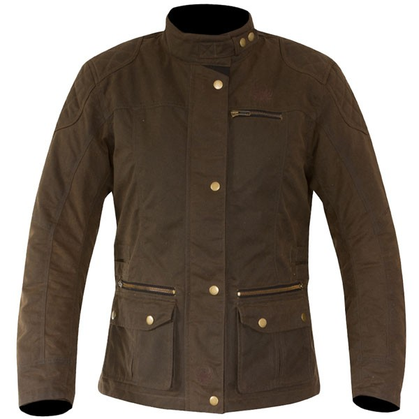 Merlin Ladies Heritage Bromley Wax Jacket - Brown