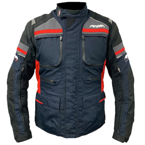 ARMR Moto Tottori 3 Textile Jacket - Navy