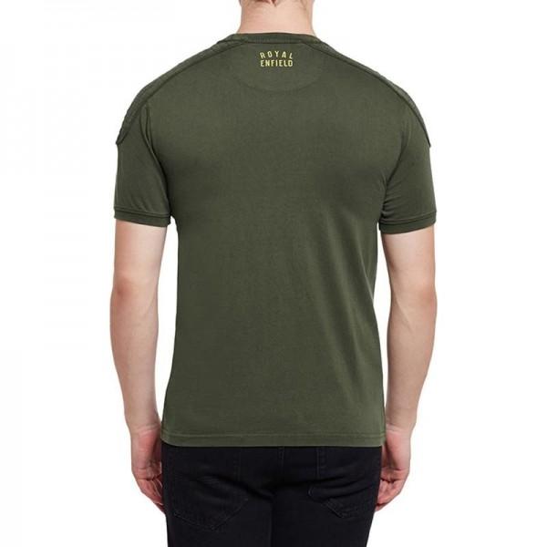 Royal Enfield Classic Moto T-Shirt Olive