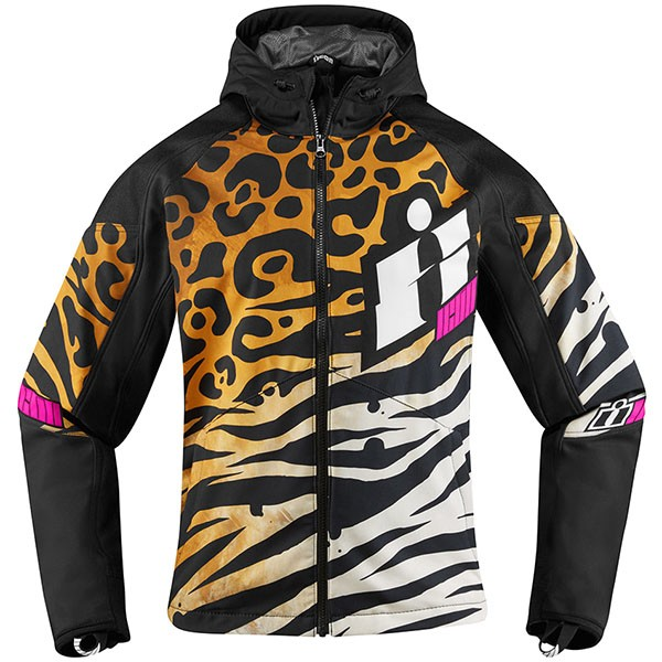 Icon Ladies Merc Textile Jacket - Shaguar