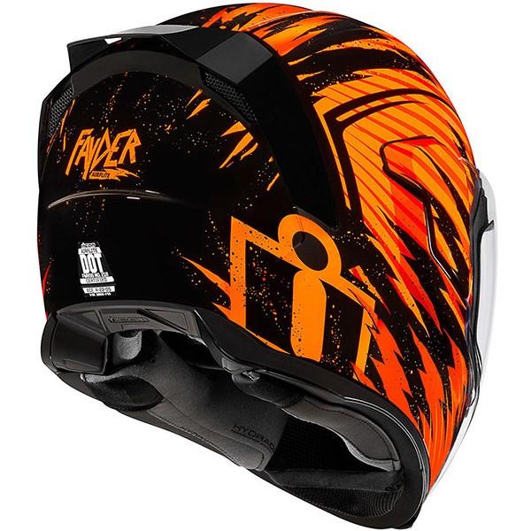 Icon Airflite Fayder - Orange / Black