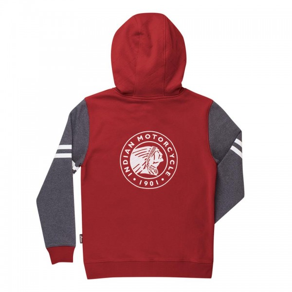 Indian Women's Pullover Hoodie Red