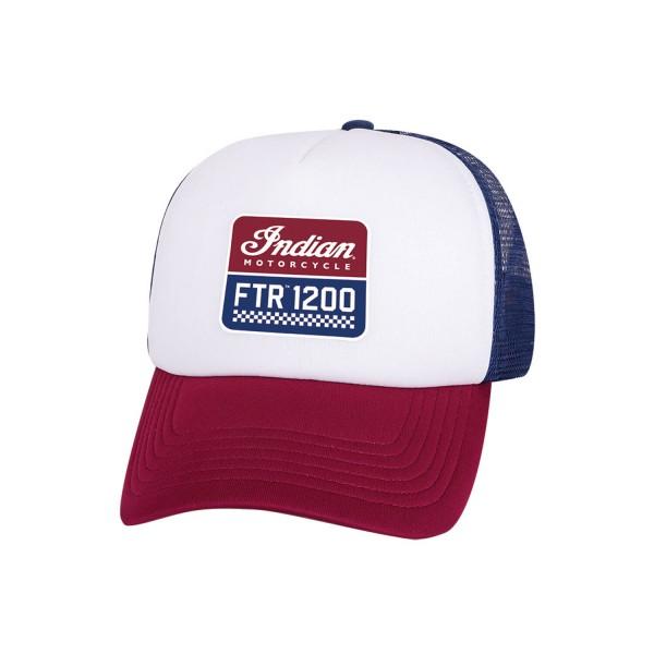 Indian FTR™ 1200 Trucker Hat, Red/White/Blue