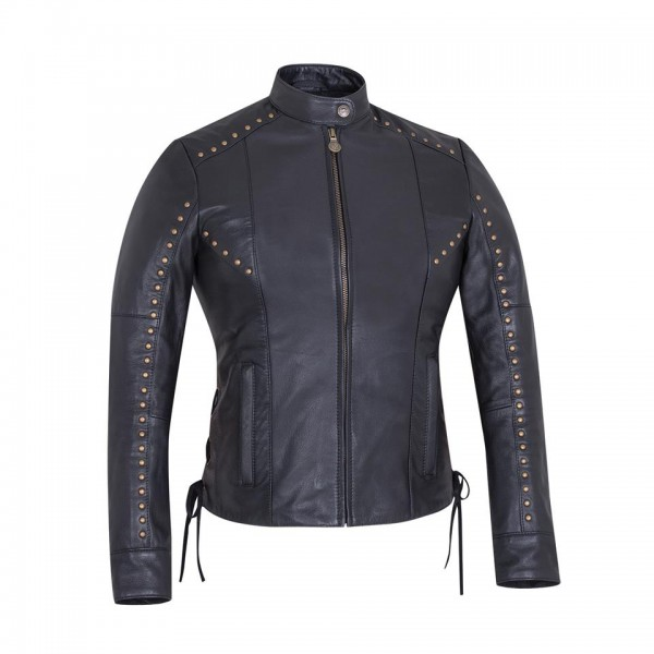 Indian Women's Casual Leather Adeline Jacket