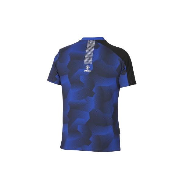 Yamaha Paddock Blue Men's Camo T-Shirt